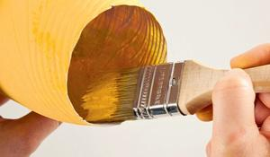 KROK IV - Malowanie środka butelki