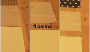 KROK I – Przycinanie materiałów na podkładkę pod talerze