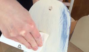 KROK V - Przecieranie papierem ściernym