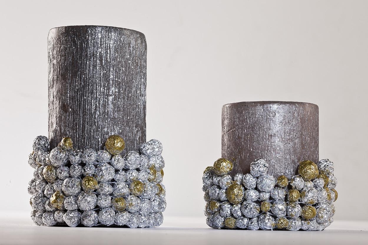 KROK V – Gotowy świecznik do stroika